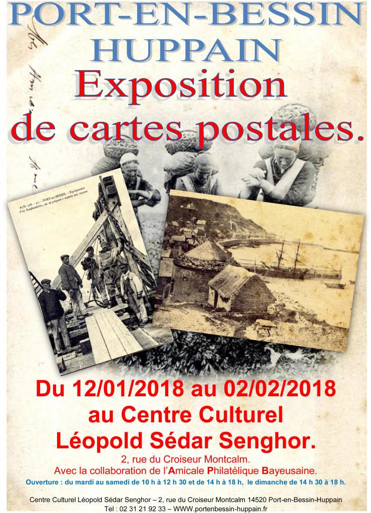 Affiche Port en Bessin 2018 A4 jpeg proposition